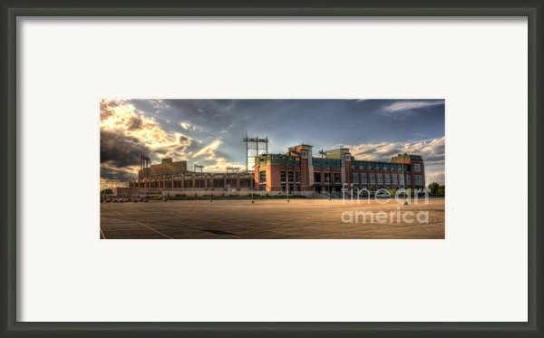 Lambeau Field Framed Print By Joel Witmeyer