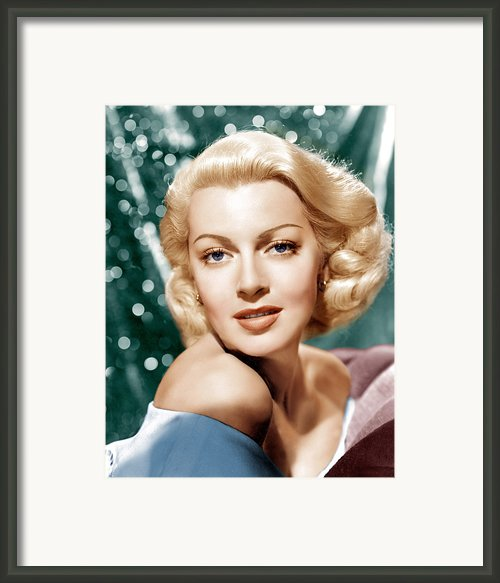 Lana Turner, Mgm Portrait, Ca. 1941 Framed Print By Everett