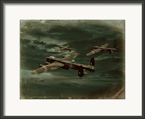 Lancaster Mission Framed Print By Steven Agius