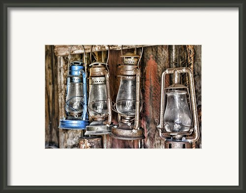 Lanterns Framed Print By Kelley King