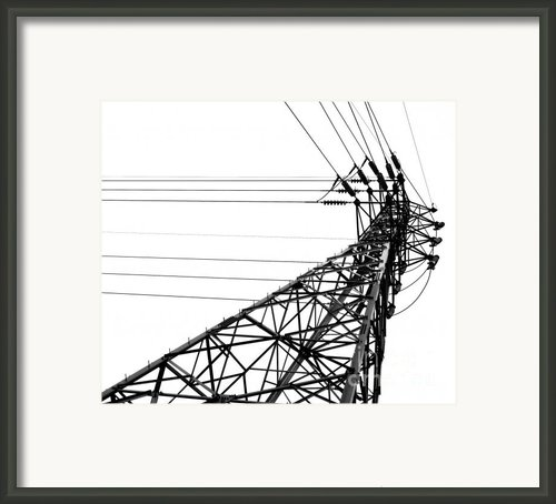 Large Powermast Framed Print By Yali Shi