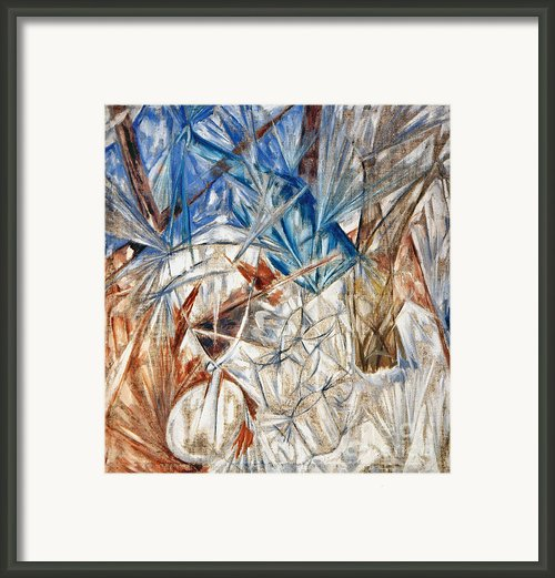 Larionov: Glass, 1912 Framed Print By Granger