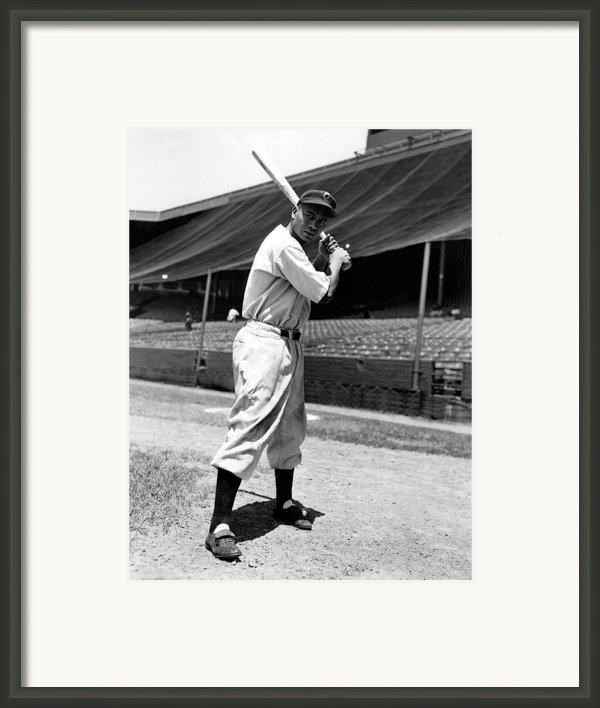 Larry Doby, Circa 1947 Framed Print By Everett