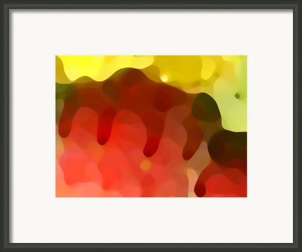 Las Tunas Ridge Framed Print By Amy Vangsgard