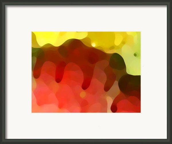 Las Tunas Ridge Framed Print By Amy Vangsgard