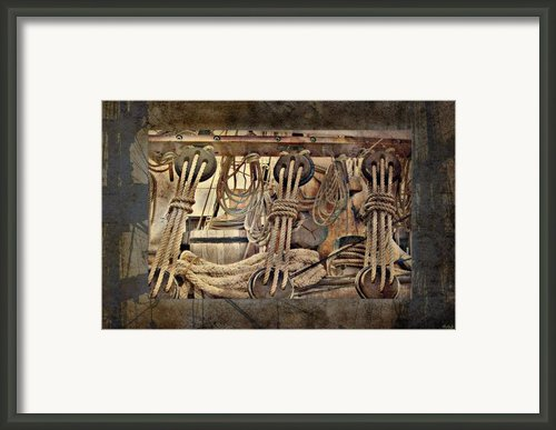 Lashings Framed Print By Holly Kempe