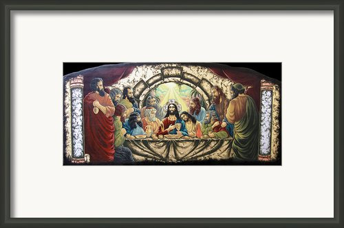 Lasy Supper Framed Print By Iosif Ioan Chezan