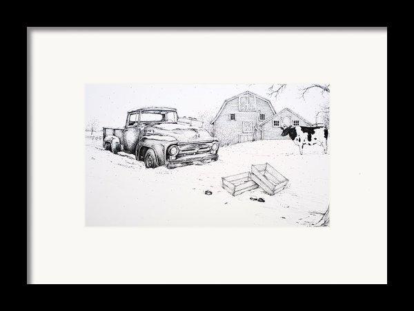 Late Season Apples Framed Print By Scott Nelson