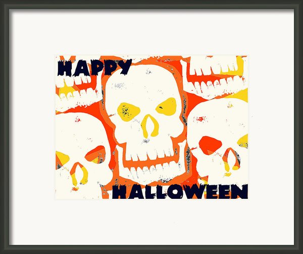 Laughing Skull Framed Print By Jame Hayes