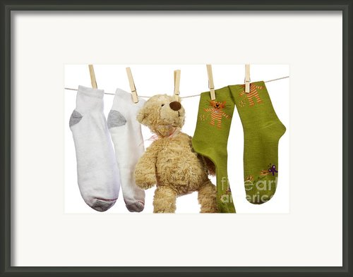 Laundry Framed Print By Blink Images