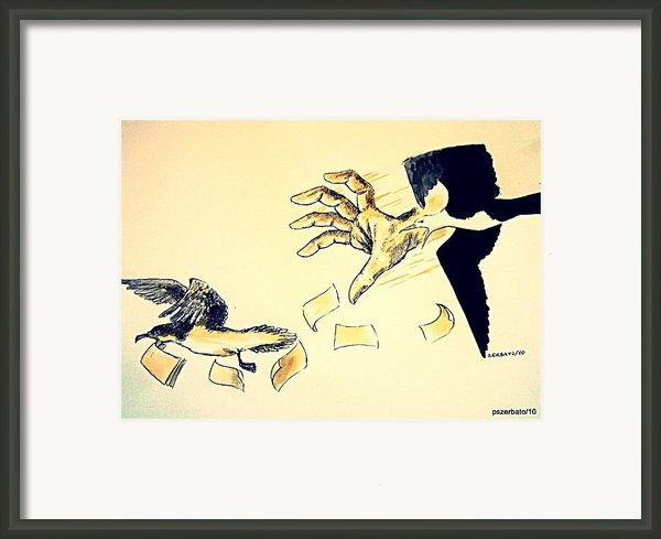 Law Of The Strong Framed Print By Paulo Zerbato