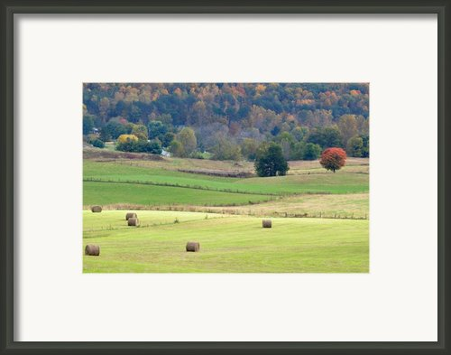 Layers Of Fields Framed Print By Jan Amiss Photography