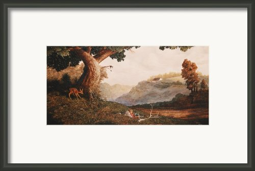 Lazy Summer Days Framed Print By Duane R Probus