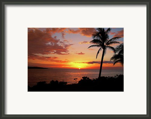Lazy Sunset Framed Print By Kamil Swiatek