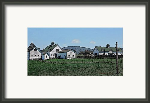 Lea Homestead Framed Print By Digiart Diaries By Vicky Browning