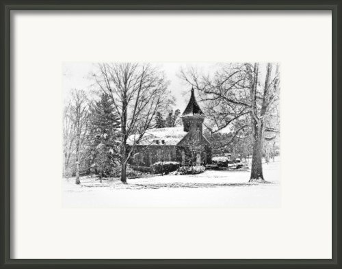 Lee Chapel February 2012 Series Ii Framed Print By Kathy Jennings