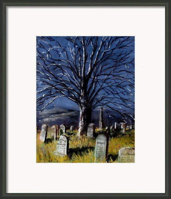 Left Alone Framed Print By Jack Skinner