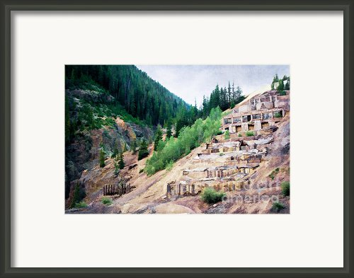 Leftovers From Sunnyside Mill Framed Print By Lana Trussell