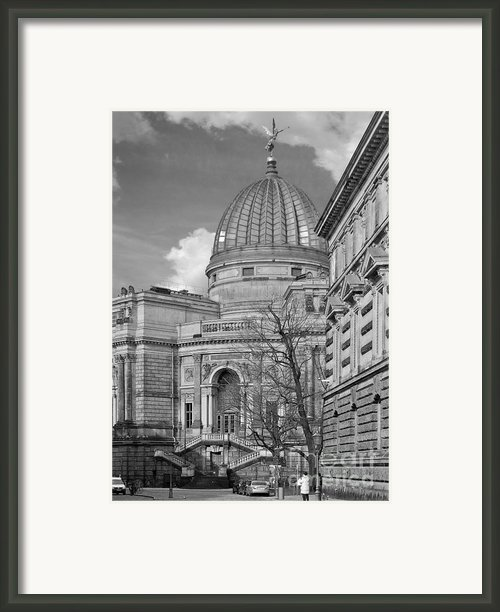 Lemon Squeezer - Academy Of Fine Arts Dresden Framed Print By Christine Till