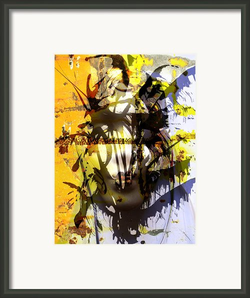 Lemon To Wounds  Framed Print By Jerry Cordeiro