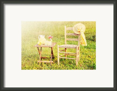 Lemonade Framed Print By Darren Fisher