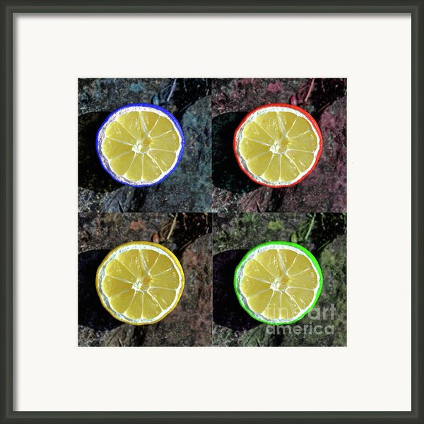 Lemons Framed Print By Rob Hawkins
