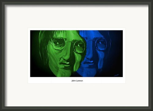 Lennon Framed Print By Mark Moore