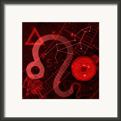 Leo Framed Print By Jp Rhea