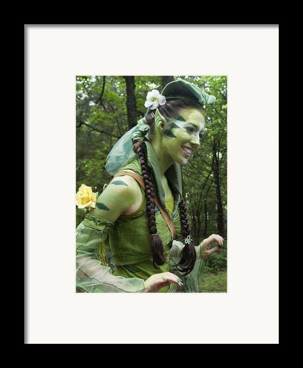Leprechaun Framed Print By Charles Warren