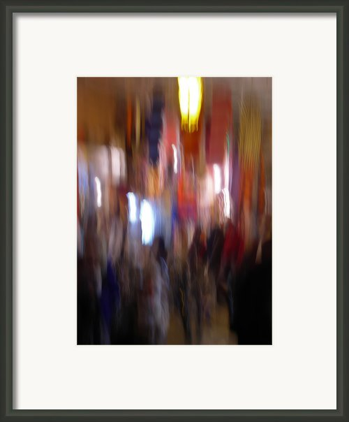Les Couleurs Du Souk Ii Framed Print By Artecco Fine Art Photography - Photograph By Nadja Drieling
