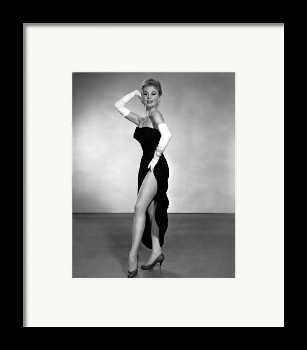 Les Girls, Mitzi Gaynor, 1957 Framed Print By Everett