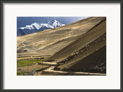 Less Traveled Framed Print By Hitendra Sinkar