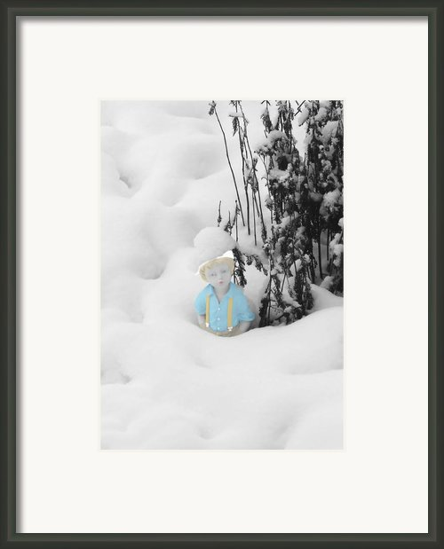 Let It Snow Framed Print By Al Bourassa
