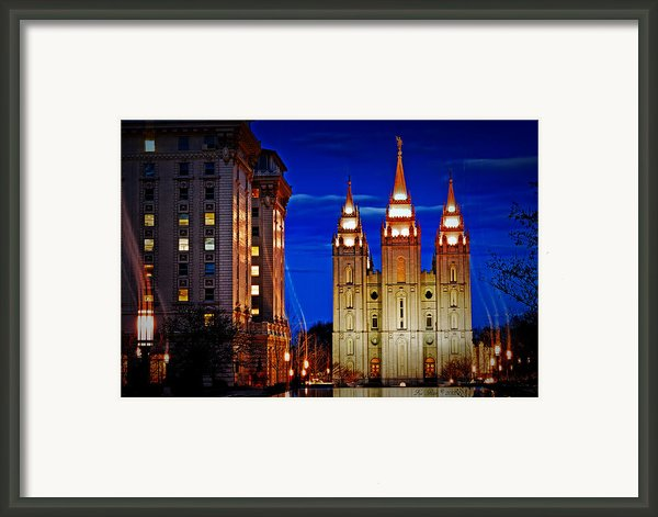 Let Your Light Shine Framed Print By La Rae  Roberts
