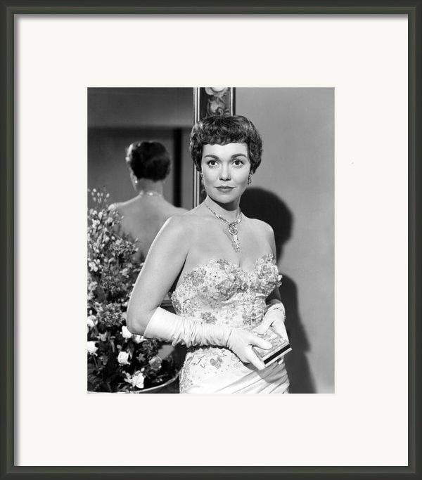 Lets Do It Again, Jane Wyman, 1953 Framed Print By Everett