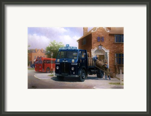 Leyland Dray. Framed Print By Mike  Jeffries