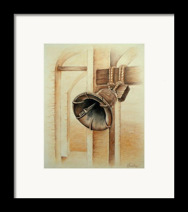 Liberty Bell Framed Print By Lena Day