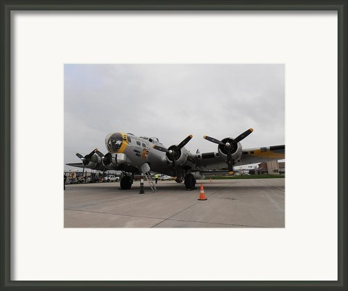 Liberty Belle B17 Framed Print By Tim Donovan
