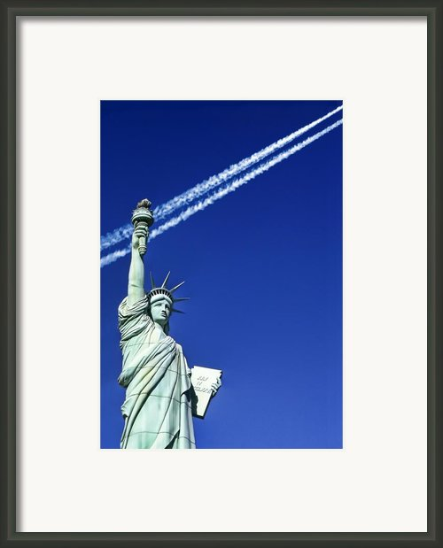 Liberty Framed Print By Donovan Torres