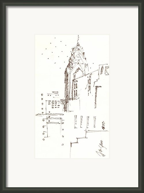 Liberty Place Philadelphia Framed Print By Donna Frizano Leonetti