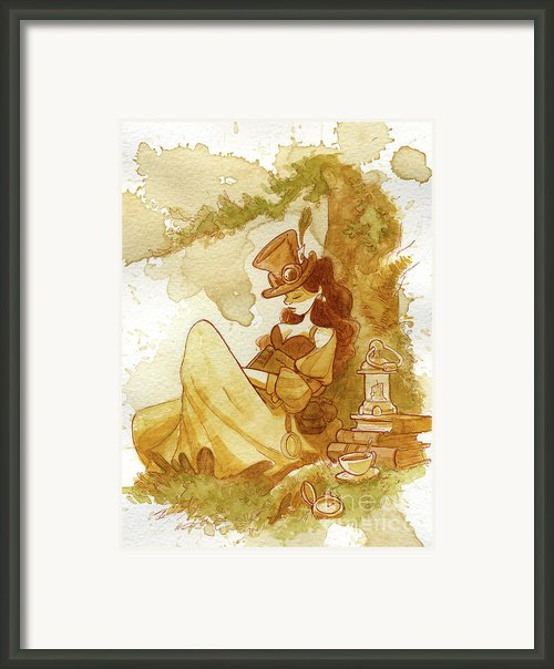 Librarian Framed Print By Brian Kesinger