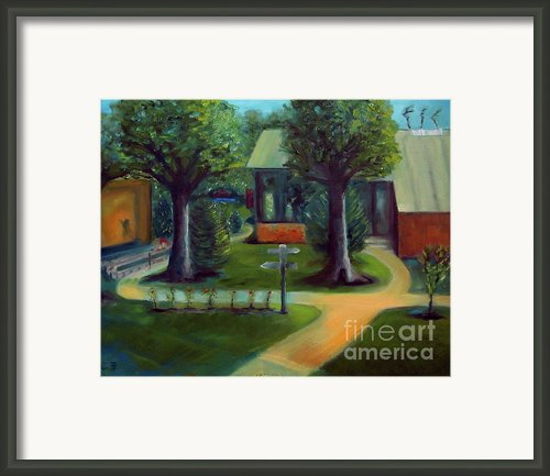 Lichterman Nature Center Framed Print By Karen Francis