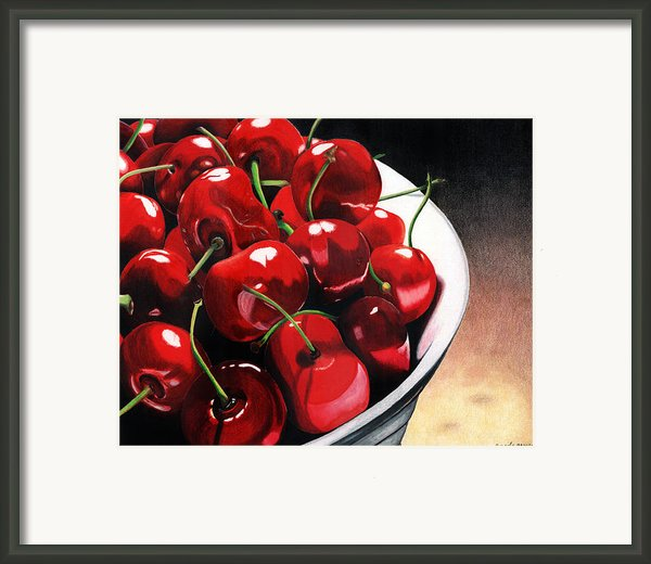 Life Is.... Framed Print By Angela Armano