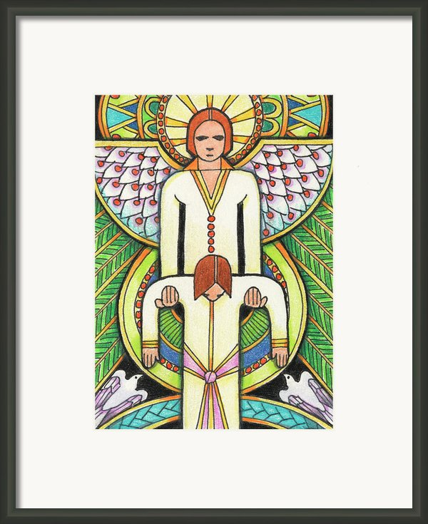 Lift Me Up Framed Print By Amy S Turner
