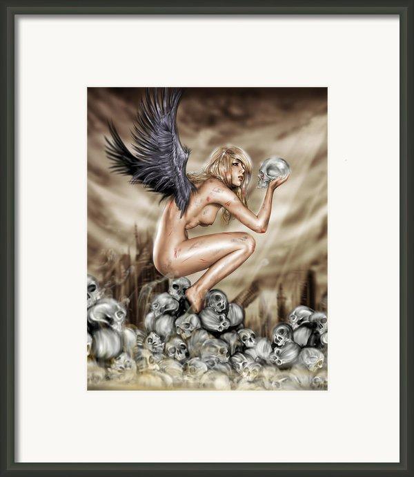 Lifting The Veil Framed Print By Pete Tapang
