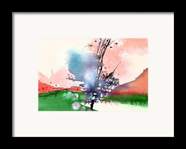 Light 2 Framed Print By Anil Nene