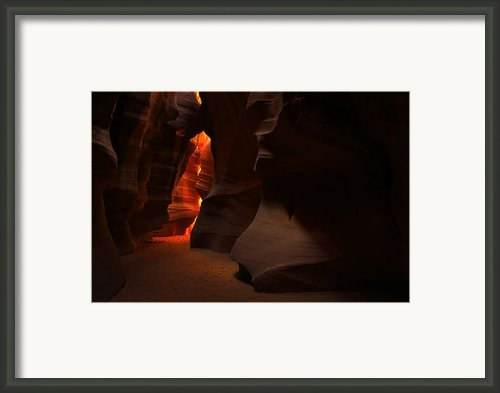 Light And Shadow Framed Print By Sean Foster