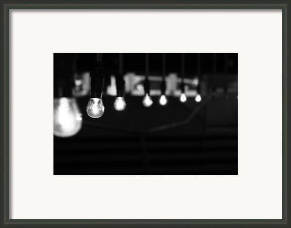 Light Bulbs Framed Print By Carl Suurmond
