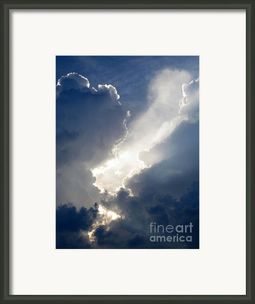 Light Cauldron Framed Print By Albert Stewart