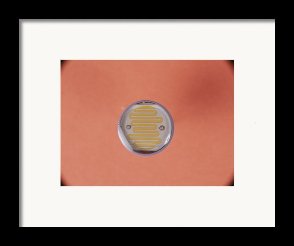 Light Dependent Resistor Framed Print By Andrew Lambert Photography